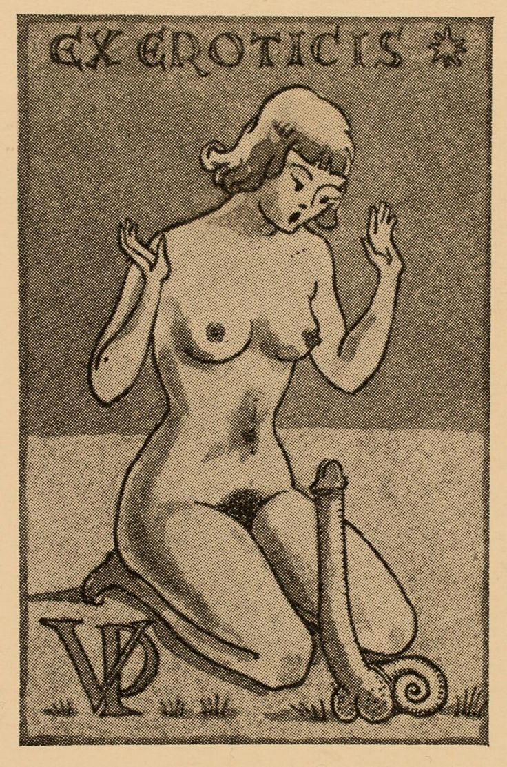 Erotic ex libris alphonse inoue - 1 8