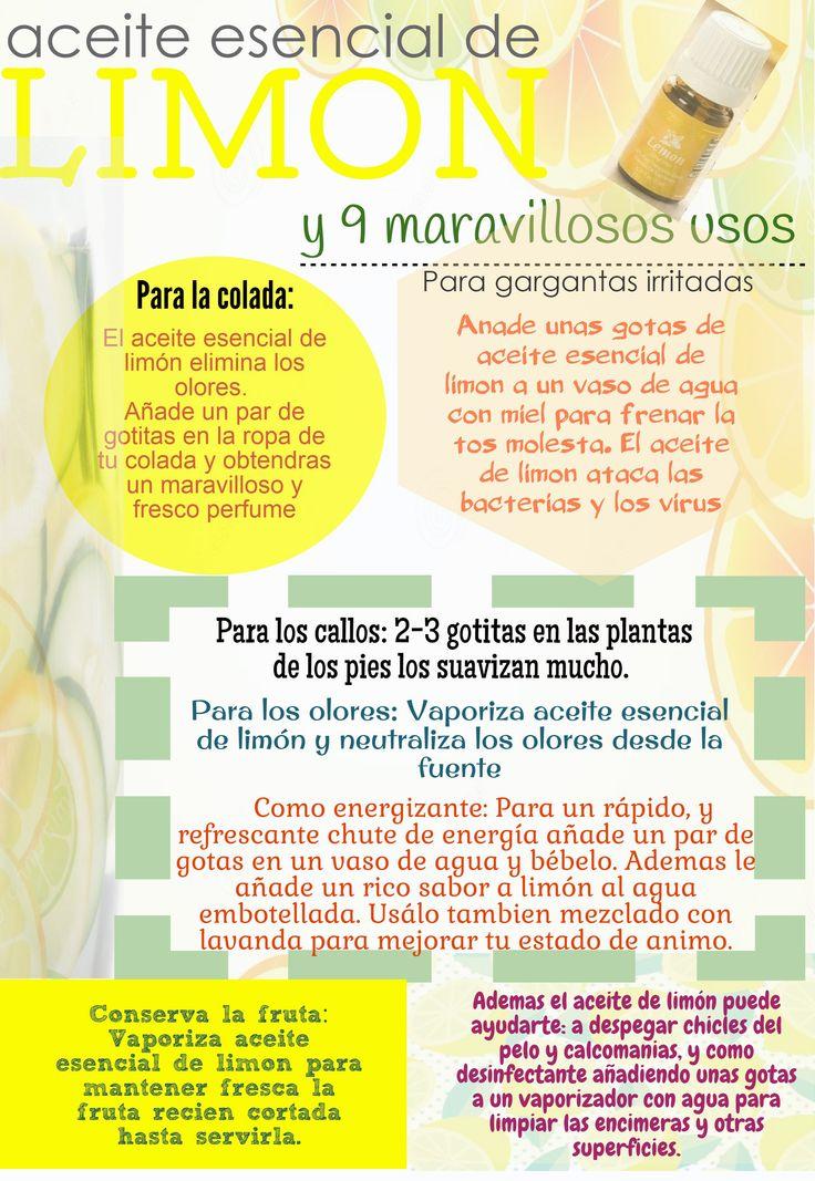 Aceite Esencial de Limón (español) - Young Living