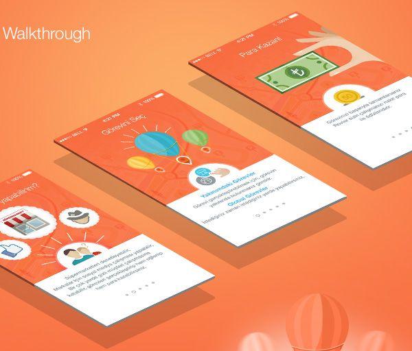 2.Mobile App Design Inspiration – Rovler