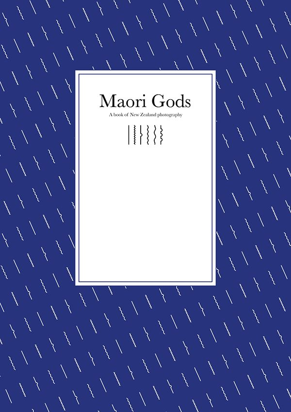 Photography bookcover of New Zealand nature - maori gods