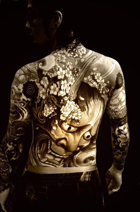 1000  ideas about hannya mask tattoo on pinterest