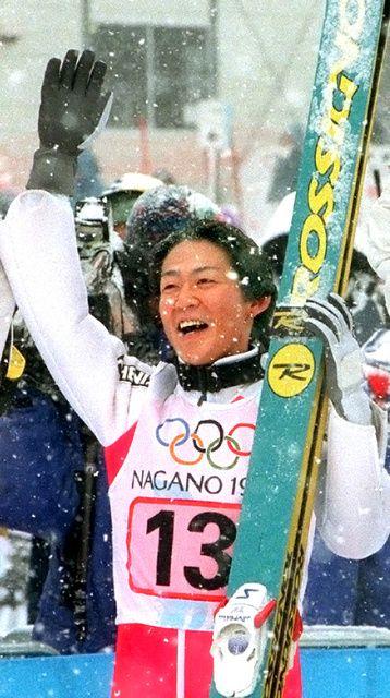 長野五輪団体で金メダル獲得に貢献した岡部孝信 ▼11Mar2014朝日新聞|43歳岡部、今季限りで引退 ジャンプ長野五輪で金 http://t.asahi.com/e716 #Takanobu_Okabe #Okabe #ski_jumping #nagano1998