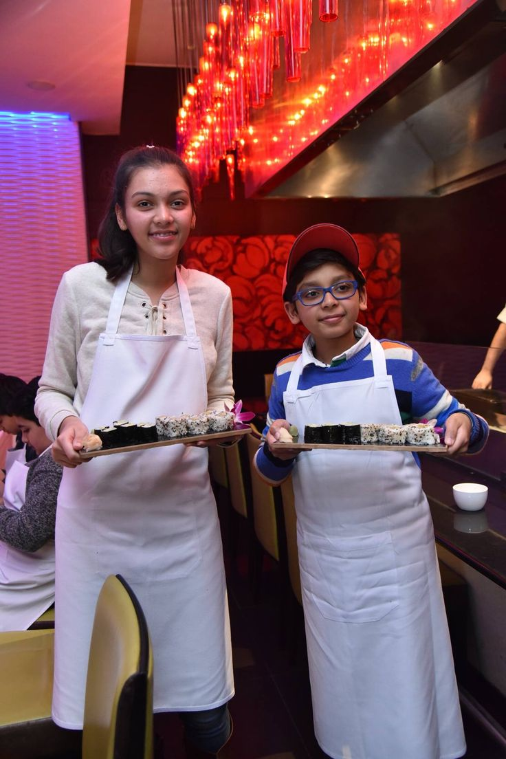 Nothing delights us more than to see our Junior Master Chefs presenting their Sushi!