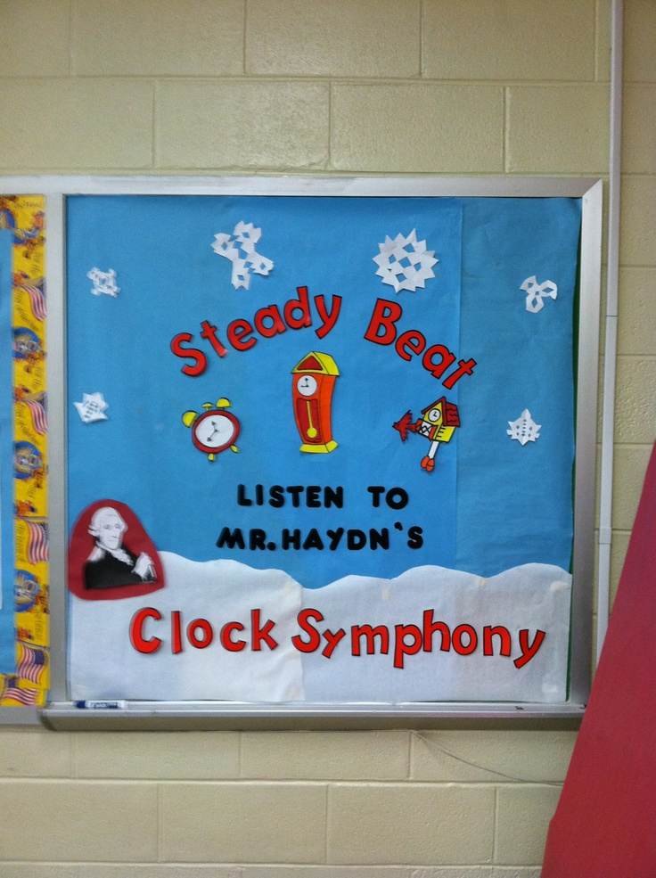 Elementary Music Classroom Decorations ~ Bulletin boards a collection of ideas to try about