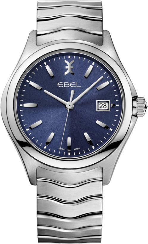 Ebel Watch Wave Gent #bezel-fixed #bracelet-strap-steel # ...