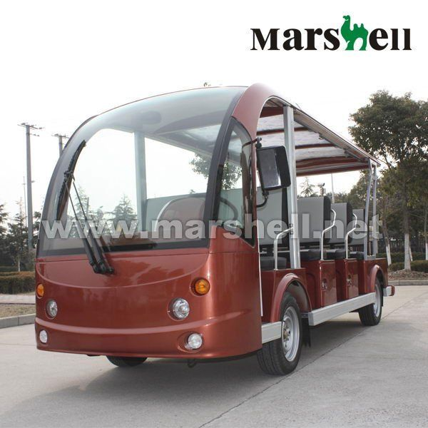 11 Seater battery power electric bus for sale DN-11 with CE certificate from China