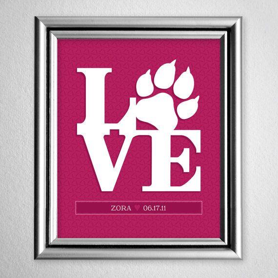 Custom Animal LOVErs Print