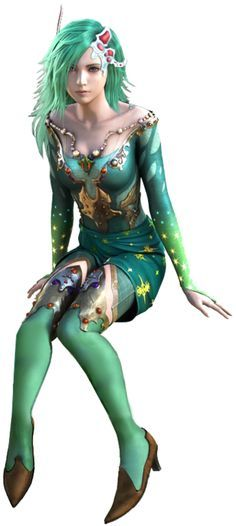 Rydia from Final Fantasy IV: The After Years. Favorite Final Fantasy character and most beautifully designed.