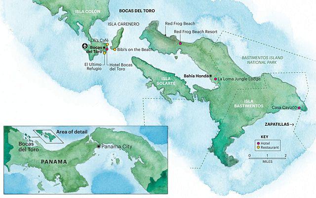 Bocas del Toro, Panama Travel Guide : Condé Nast Traveler