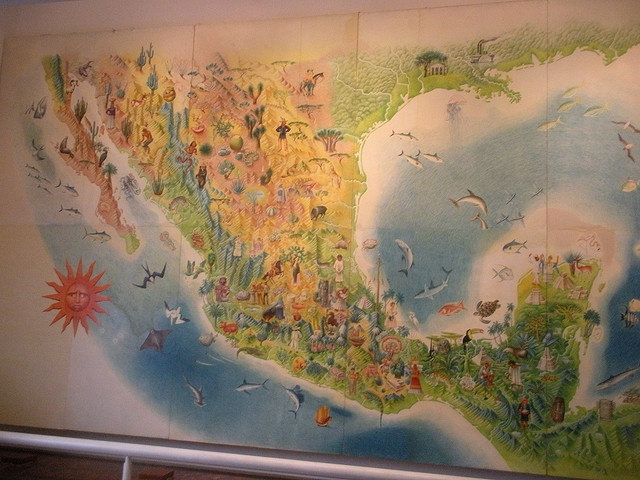 13 best images about culture south of the border on for Arts and crafts mural