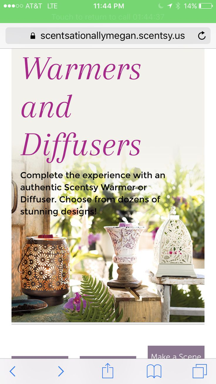 Warmers and diffusers are a plenty in the new spring/summer Scentsy catalog. You're sure to find the perfect decor to complete any guest room.