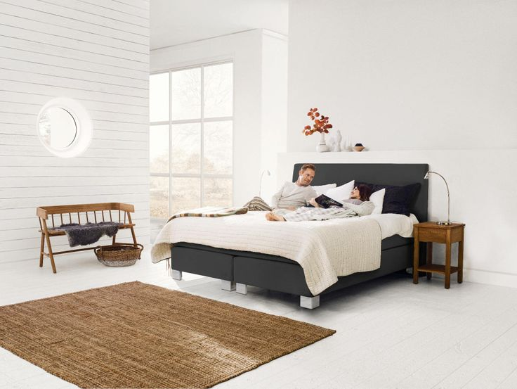 Bedroom from Jensen styled and arranged by #oddbirds for #Jensen #beds #sängar #bedroom #sovrum