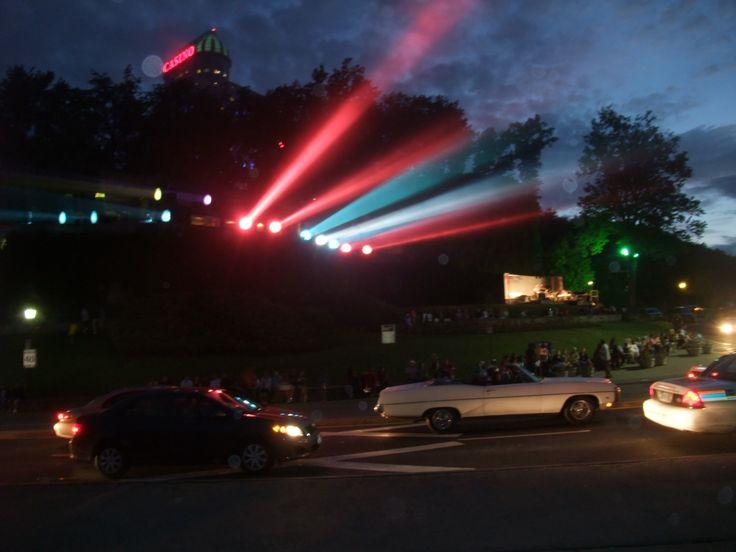 Niagara Falls night life..