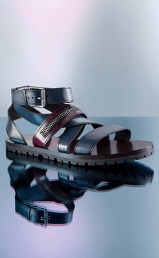Mens Sandals.  Barneys New York.  Belstaff? | See more about Men Sandals and Sandals.