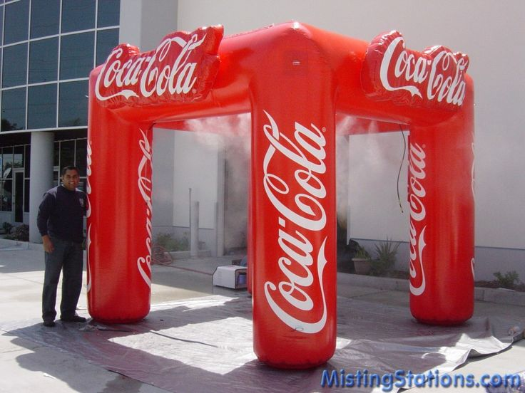 Misting Station for Coca Cola