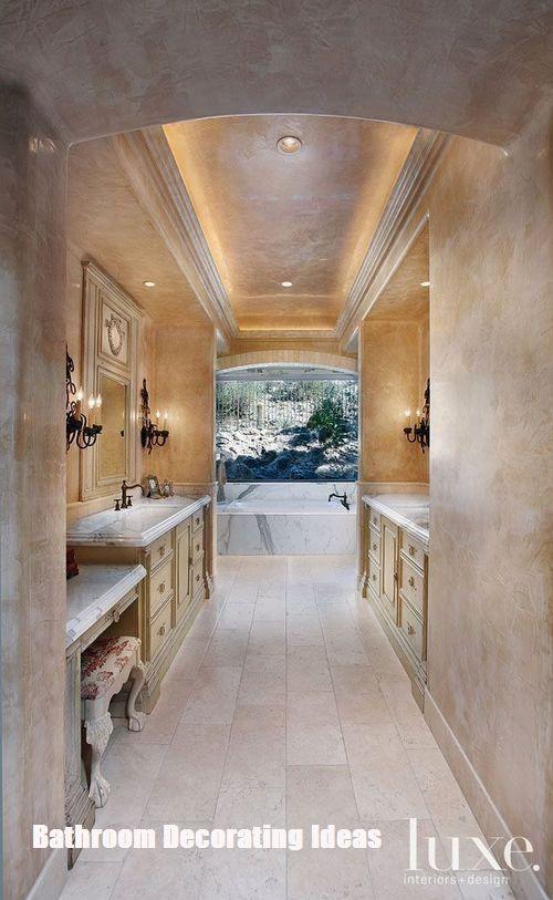 Make Your Bathroom Look Bigger With These Bathroom Decorating Ideas Beautiful Bathrooms Amazing Bathrooms Dream Bathrooms