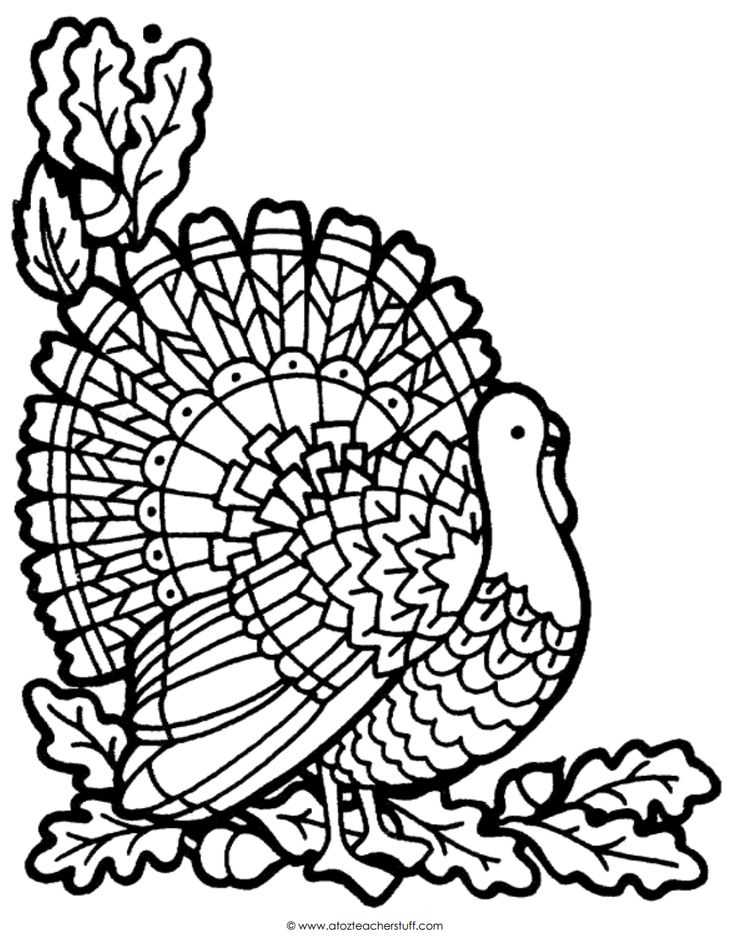 thanksgiving coloring pages and themes - photo#40