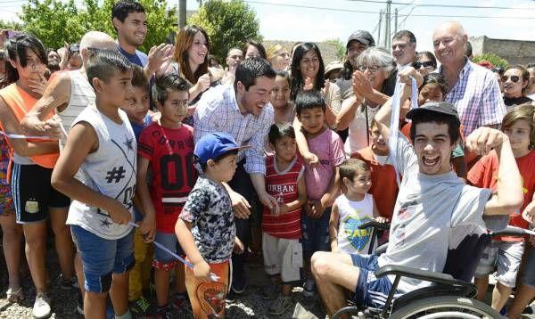 Nardini inauguró el Circuito Aeróbico Rossi en Villa de Mayo