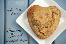 Vegan Banana Almond Breakfast Bake Recipes