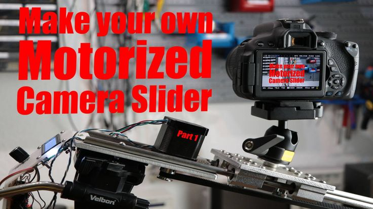 Make your own Motorized Camera Slider (Part 1) - the mechanical build