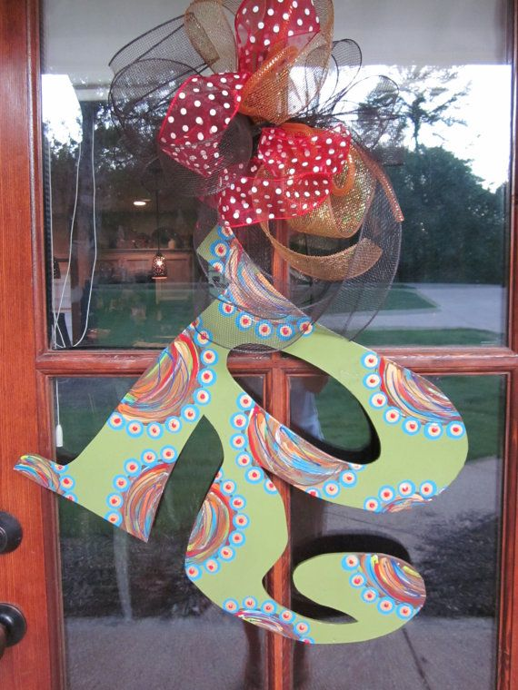 Cute... for my front door this spring!