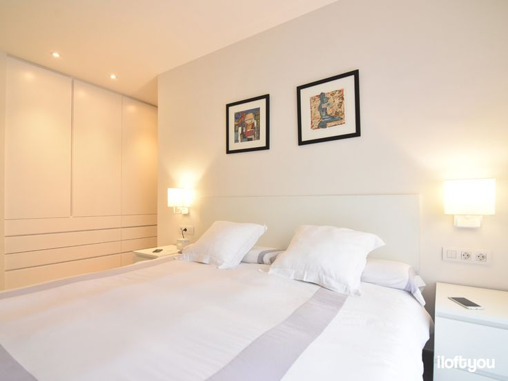 #iloftyou #interiordesign #barcelona #ikea #ikealover #ikeaaddict #sarrià #bedroom #white #malm #zarahome #faroiluminación #vesper