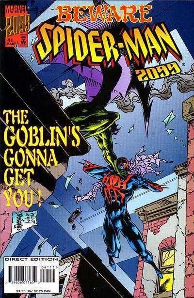 Spider man 2099 41 by andrew wildman stephen baskerville
