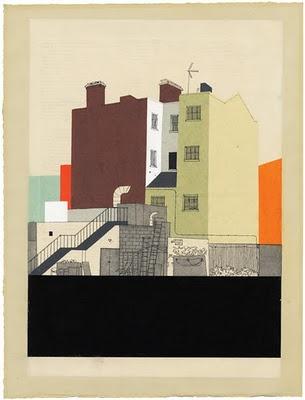 """Evan Hecox """"Borough & Lane"""" exhibition at Stolenspace Gallery"""