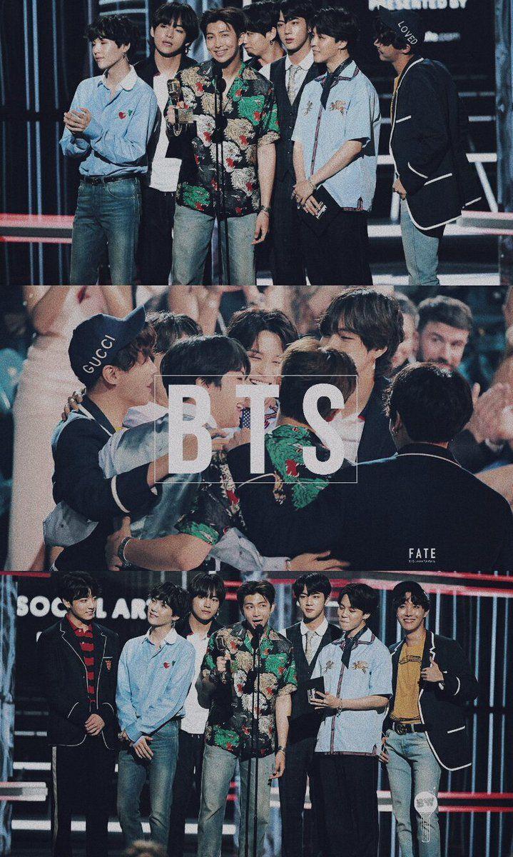 18 05 20 Bts Billboard Music Awards 2018 Wallpaper Bts Wallpaper