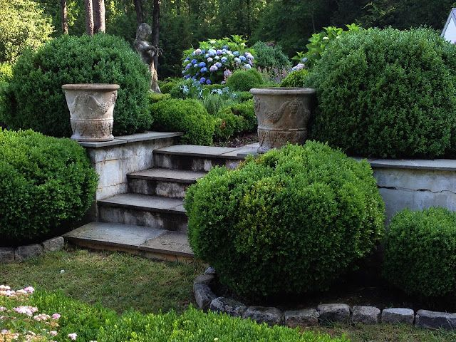 antique garden pots