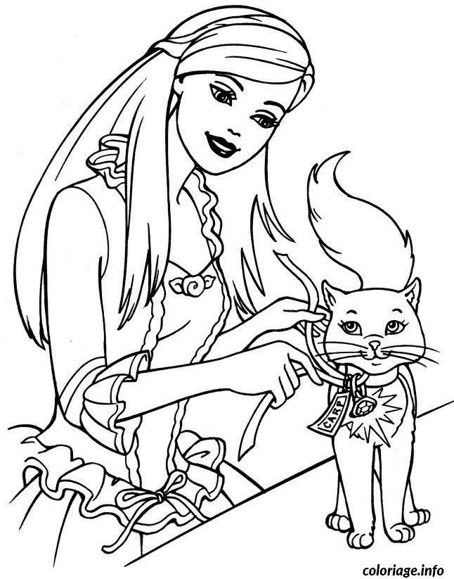 Les 25 meilleures id es de la cat gorie coloriage barbie sur pinterest dessin barbie - Barbie a imprimer ...