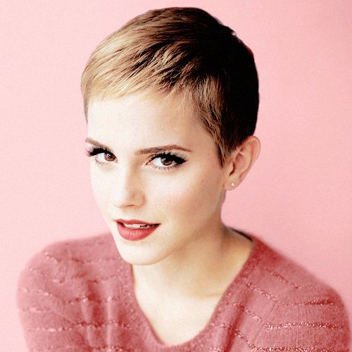 So simple. So tempted. Never had my hair this short, but maybe that won't be the case for long