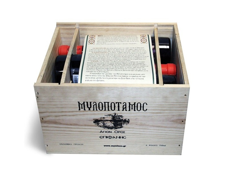 $286.24Net weight: 4.5l(152.16 oz) Contains 6 bottles with a monastic description reminiscent to a Byzantine parchment.A unique gift that you deserve to have in your cellar or a perfect gift for the people you love.