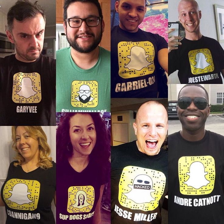 I'll be making more snapchat tshirts today with YOUR snapcode. Comment below if u want one made for you too
