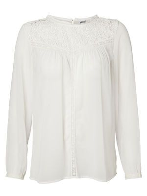 NELLIE L/S SHIRT, Snow White, main