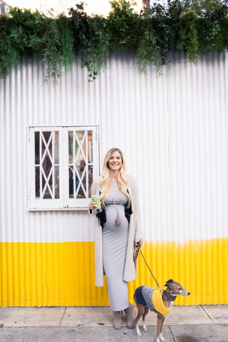 How Wellness Guru Rachel Brathen Spends Her Day: Walk with Dog in Sweater | coveteur.com