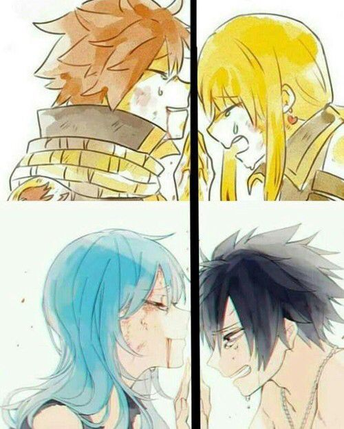 NaLu & Gruvia Top Image... I can see the happening with the most recent turn of events.