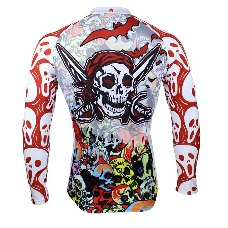 bicycle Cycling Sets jersey 2015 ropa ciclismo Bicycle clothes maillot cycling clothing shirt uniforms Sports 088 skull color-in Sports Jerseys from Sports & Entertainment on Aliexpress.com | Alibaba Group