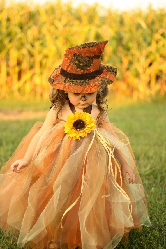 Sassy Little Scarecrow Tutu Dress and by lauriestutuboutique