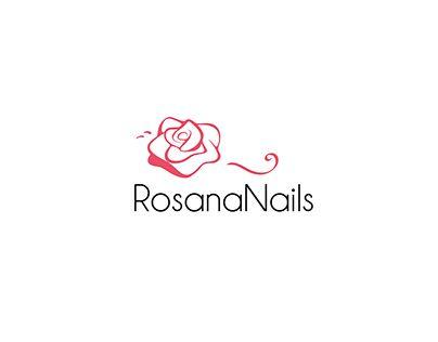"""Logo """"RosanaNails"""""""