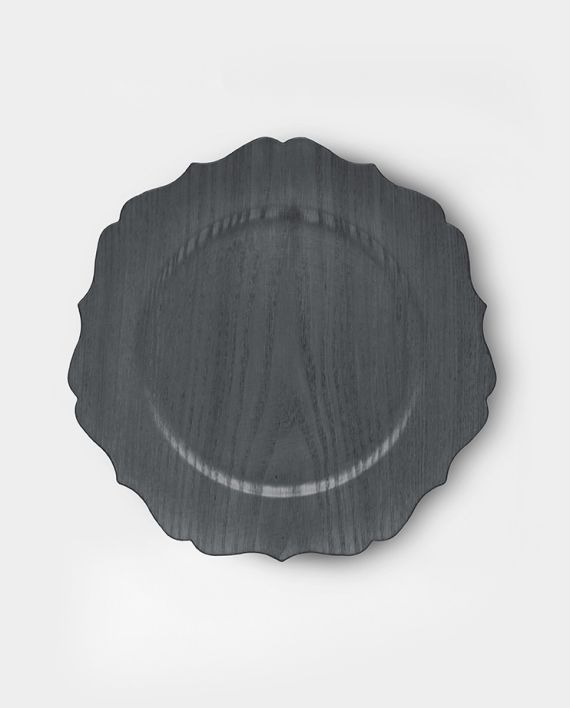 Sottopiatto legno scuro