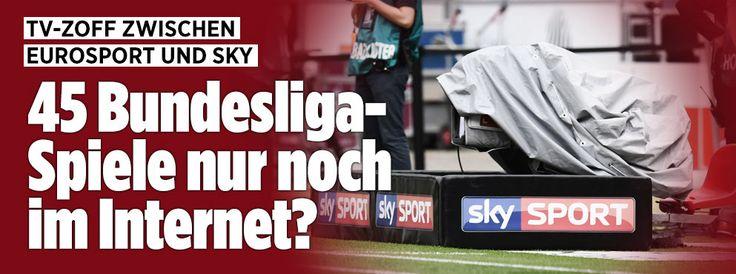 45 Bundesliga-Spiele nur im Internet?