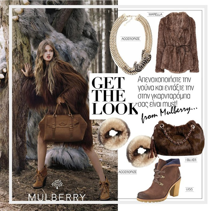 Get the look - Inspitration from Mulberry