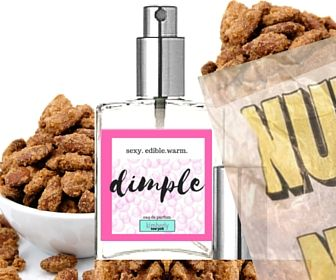"""SEXY. EDIBLE. WARM.Inspired by the 'dimples of Venus' on a woman's lower back. Almond biscotti, warm sugar cookie and colorful lavender macaron snuggle sweetly.  """"Dimple"""" ..."""