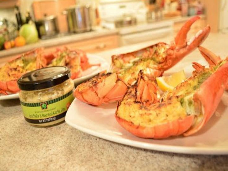 Oh, you're fancy, huh? Check out this #recipe for #Artichoke & #RoastedGarlic #Broiled #Lobster! You're going to LOVE this one - featured on ifood TV!  This show is brought to you by Wine Country Kitchens: http://WineCountryKitchens.com  * Subscribe to Cooking With Kimberly: http://cookingwithkimberly.com @CookingWithKimE #cwk