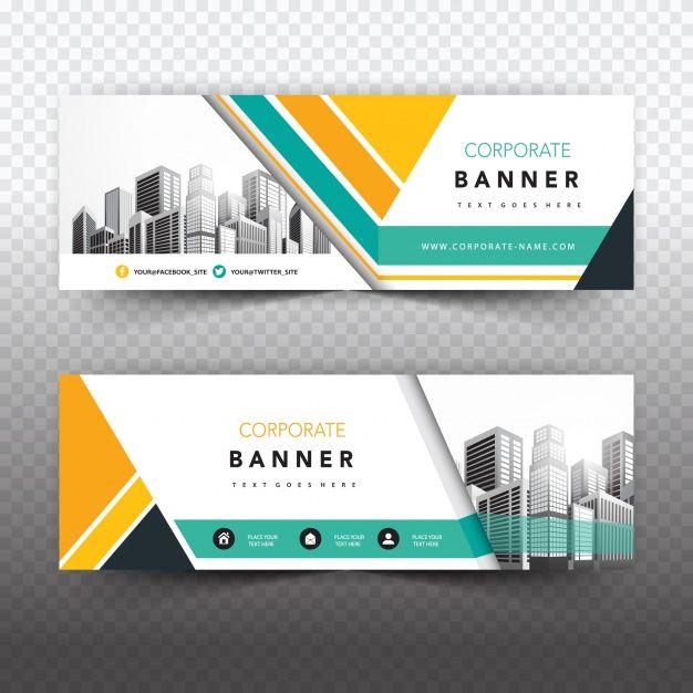 Descarga gratis Banner De Negocios Creativo | Desain ...