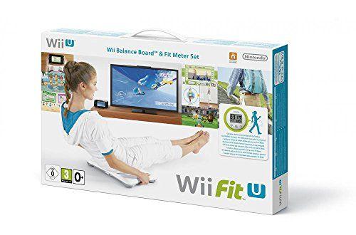 Wii Fit U + Fit Meter Wii U + Wii U Balance Board