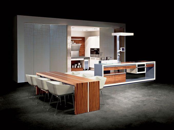 Объединение кухни со столовой и даже гостиной – одна из главных тенденций последних лет