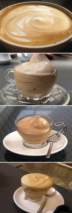 Cambia el típico café por esta CREMA de CAFE y tu visita quedará encantada; 2 ingredientes! #cafe #drinks #drinkrecipes #gelato #helados #receta #recipe #nestlecocina #casero #heladitos #cocina #buddyvalastro #crema #chocolate Si te gusta dinos HOLA y dale a Me Gusta MIREN…