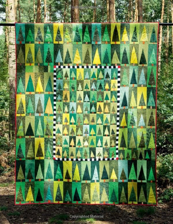 Modern Nature-Inspired Quilts: Make 25 Beautiful Projects - No Rulers or Templates Required: Bernadette Mayr: 9781574218602: Amazon.com: Boo...